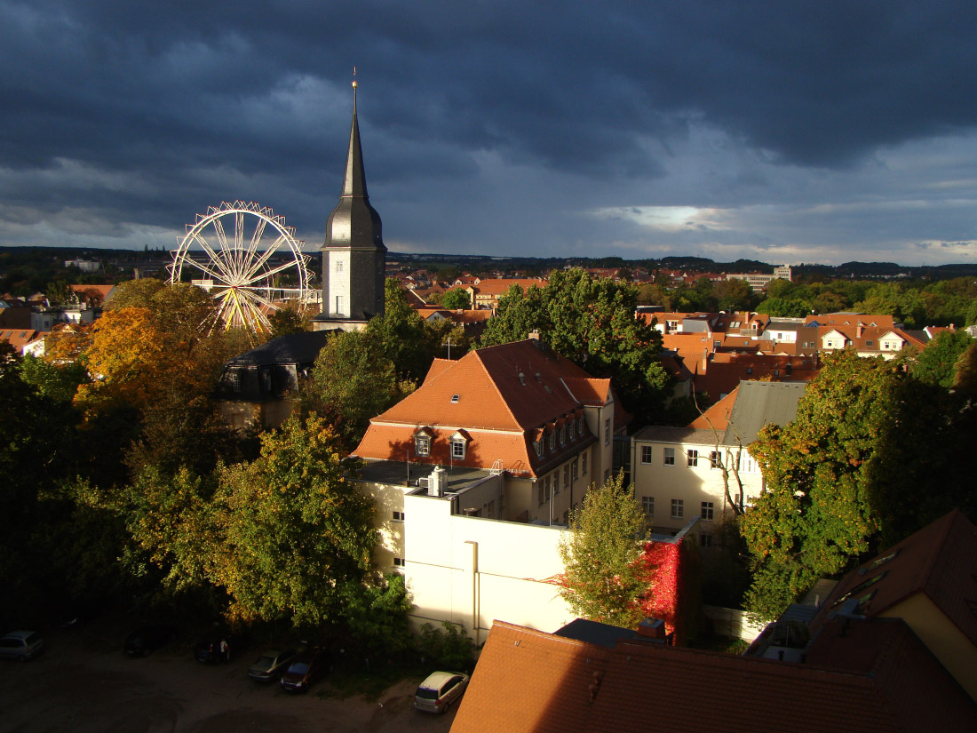 魏玛是一座有城市的公园