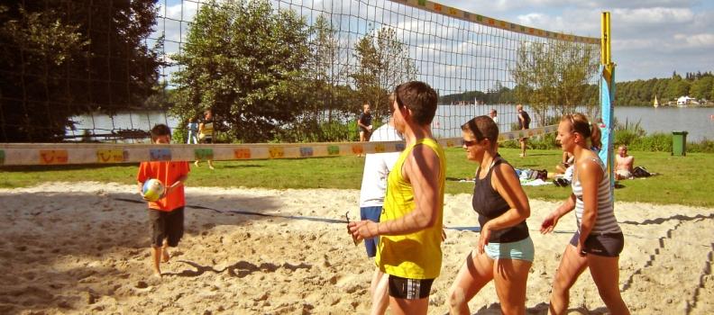 沙滩网球大赛
